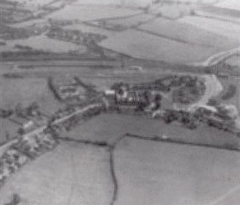 Aerial view of part of what is now Bradley Stoke