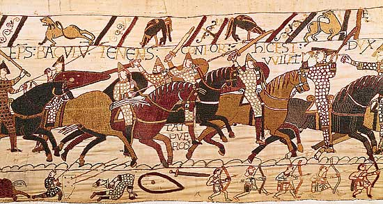 The Bayeaux Tapestry